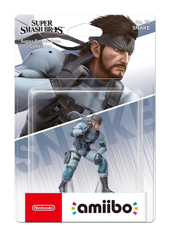Nintendo amiibo Figur Super Smash Bros. Collection Snake (Switch/WiiU/3DS)