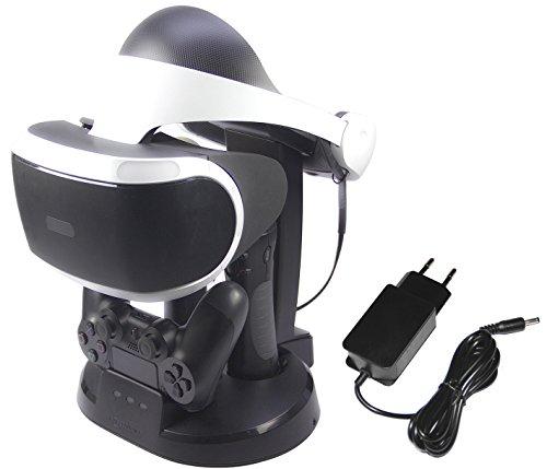 AmazonBasics - Ladestation & Ständer für PlayStation VR
