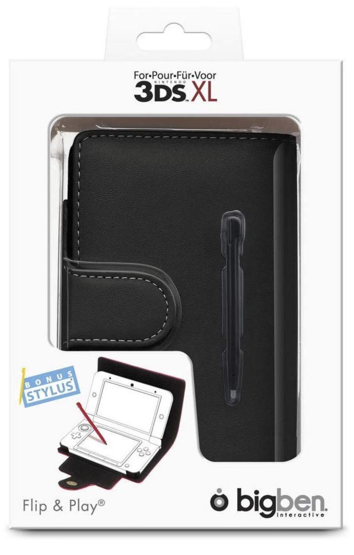 Big Ben Nintendo 3DS XL - Tasche Flip & Play Protector