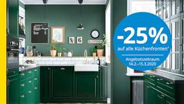 Ikea -25% auf Küchenfronten