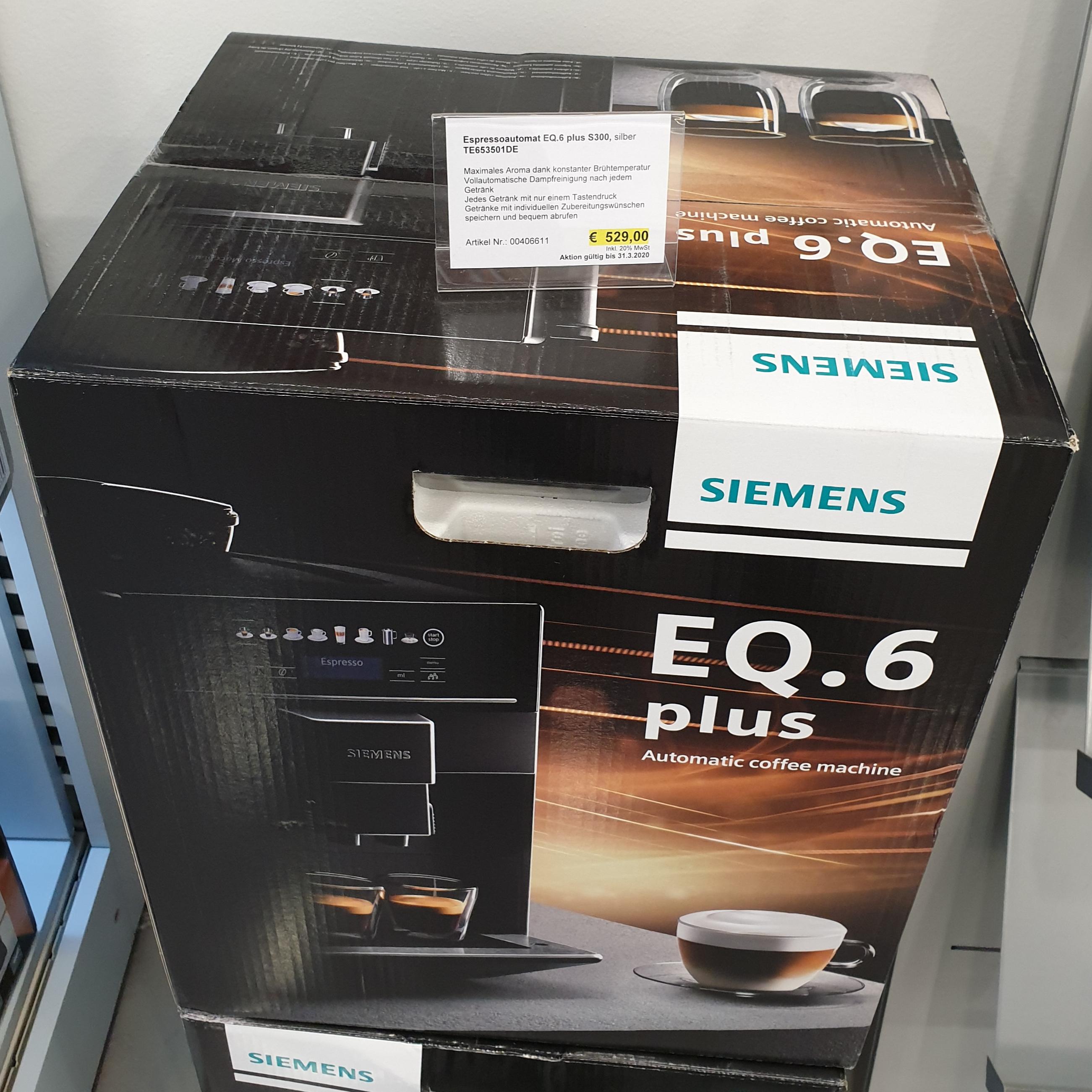 Siemens EQ.6 plus s300 TE653501DE lokal