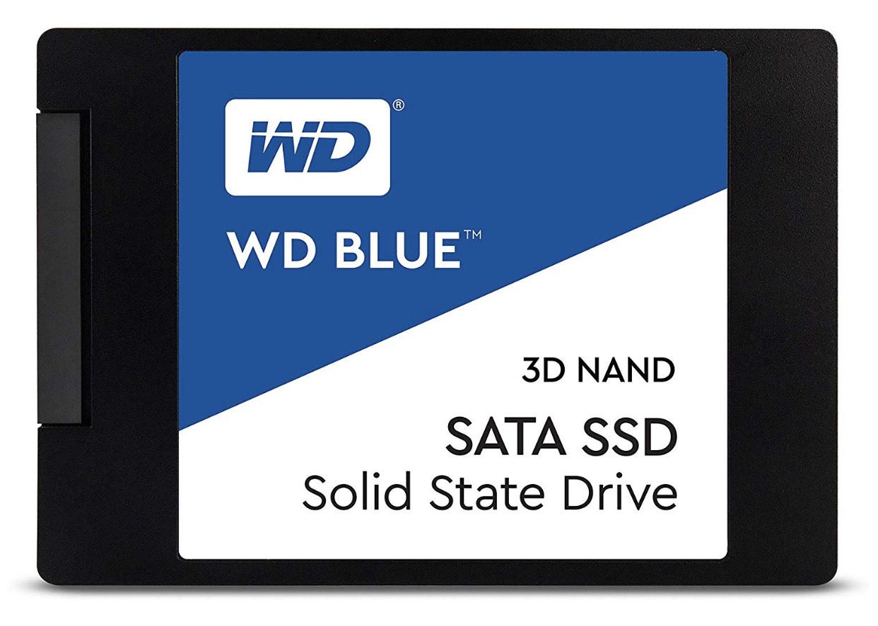 Western Digital Blue SSD 3D 2.5 500GB 2.5 (WDS500G2B0A).