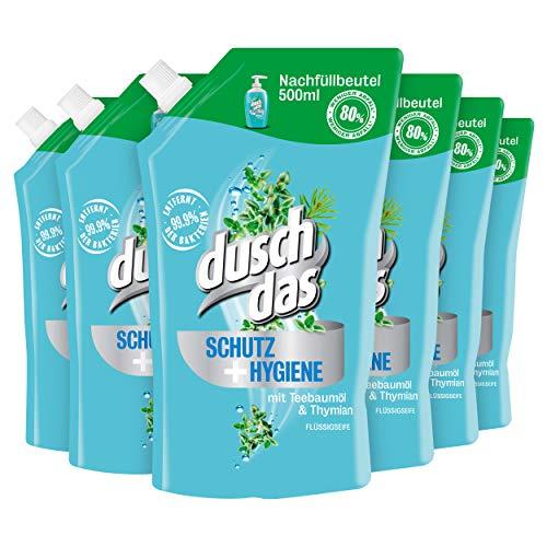 6x500ml DuschDas Flüssigseife - Schutz und Hygiene