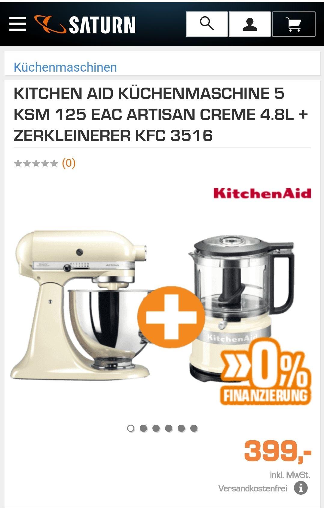 Kitchenaid Artisan zu Toppreis
