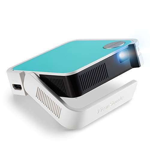 Viewsonic M1 mini Portabler LED Beamer (WVGA, 120 Lumen, HDMI, Micro USB, USB, 2 Watt Lautsprecher)