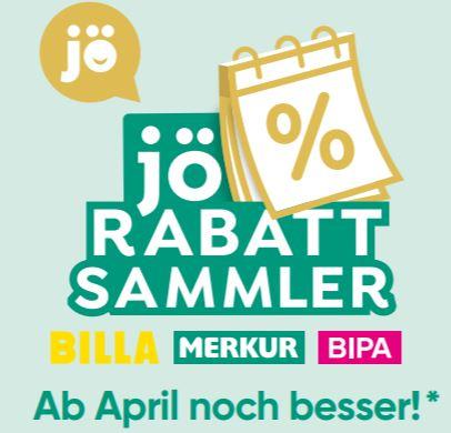 (Leak) JÖ Rabattsammler ab April noch besser [Merkur, Billa, Bipa] - (Infodeal)
