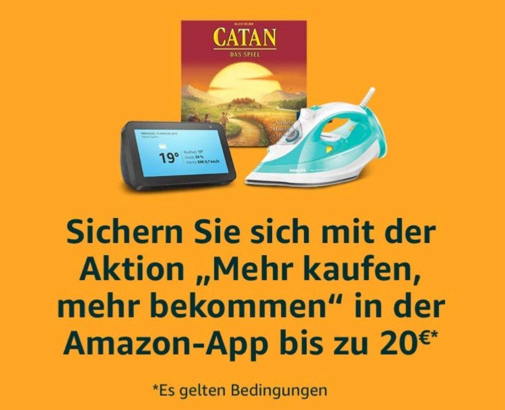 """Amazon """"Mehr kaufen, mehr bekommen"""" (leider mit Einschränkungen)"""