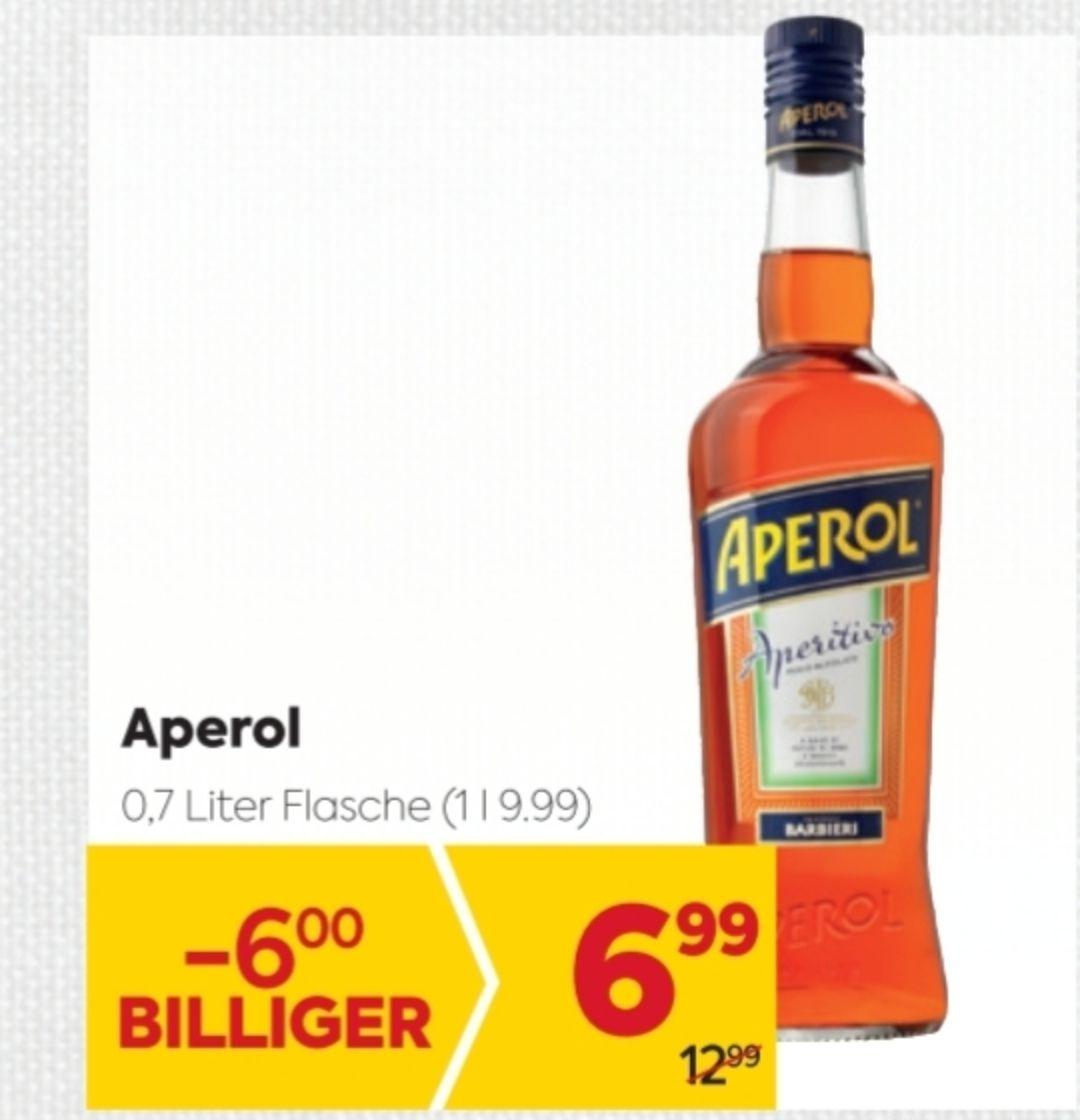 [Billa] Aperol 0.7 L zum Bestpreis von eur 3.74 ever! (auch als Aperol Spritz um eur 5.23)