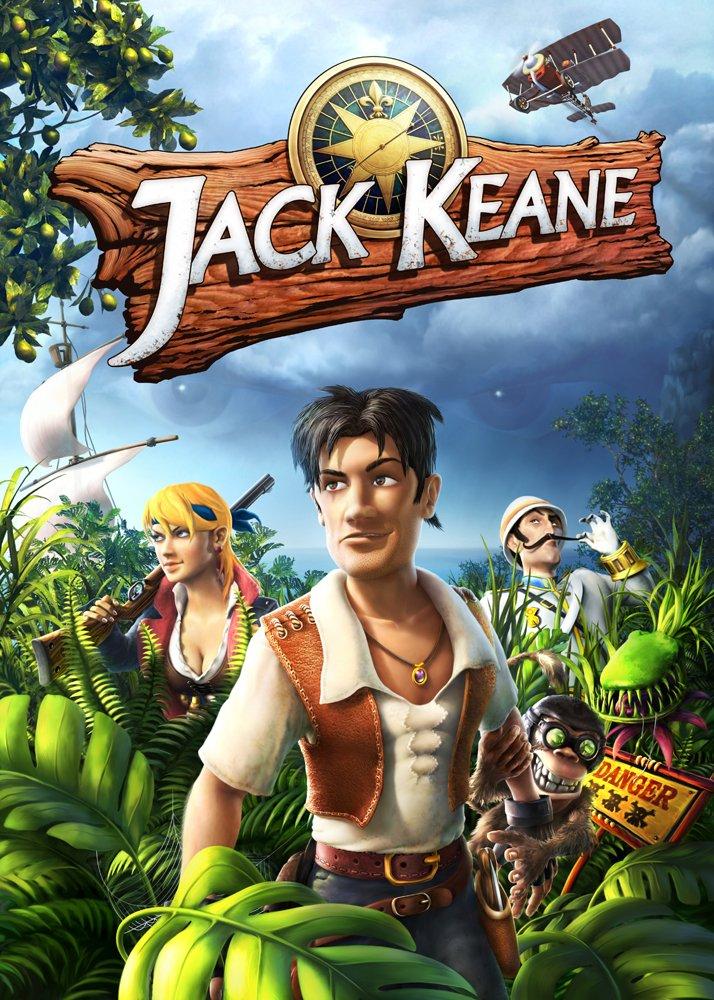 Gratis Adventure Game Jack Keane (Steam-Key)! (für einen Retweet)