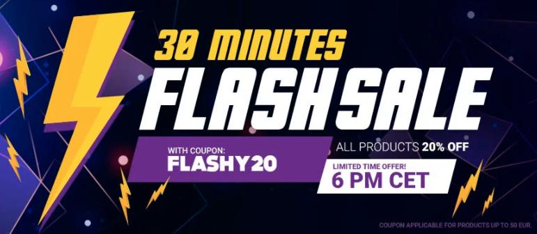 Flash Sale, 20% Rabatt auf alles bei Gamivo, z.B. 50€ Xbox Live Guthaben um 32€ / 50€ PSN Guthaben um 35,56€ uvm...