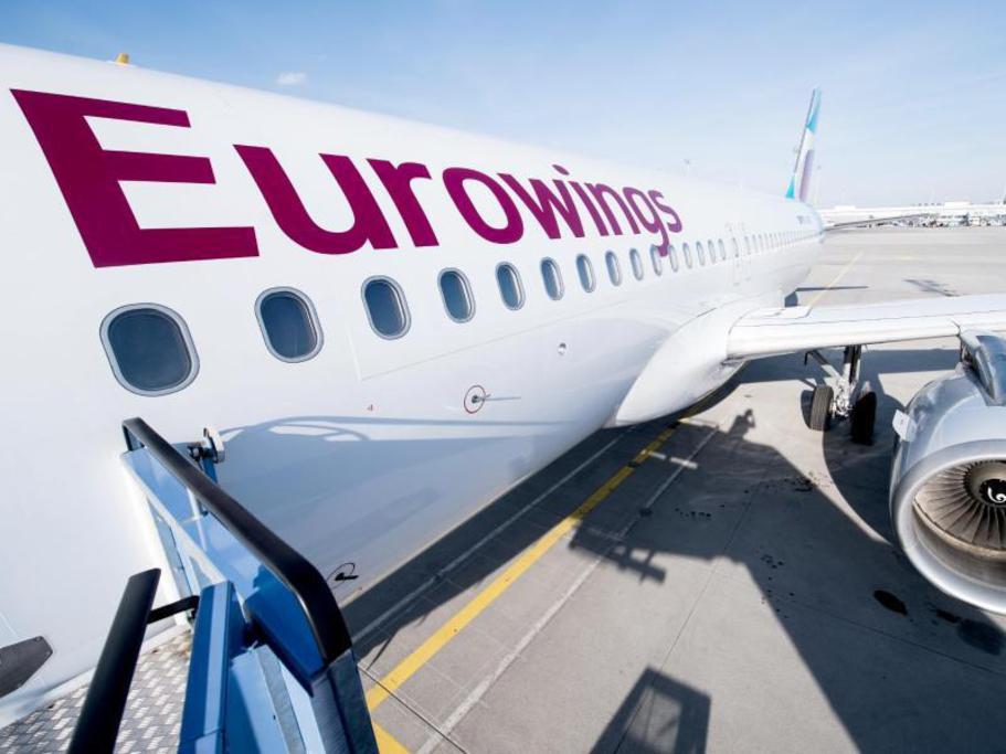 Eurowings - GRATIS Umbuchung für ALLE Flüge in 2020 - bis 31.8.2020