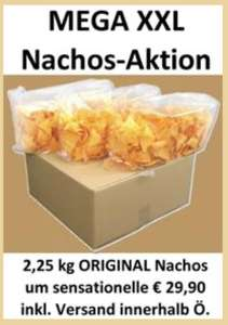 [Megaplex] original Nachos inkl. Versand zu euch nachhause
