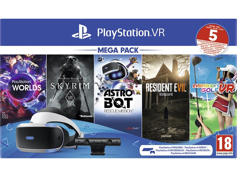 SONY PlayStation VR Mega Pack 2: PlayStation VR, PlayStation Camera, 5 Spiele