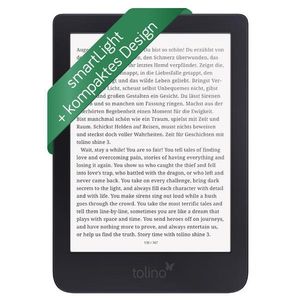 [Thalia] tolino shine 3 eBook-Reader um 95€ statt (119€)