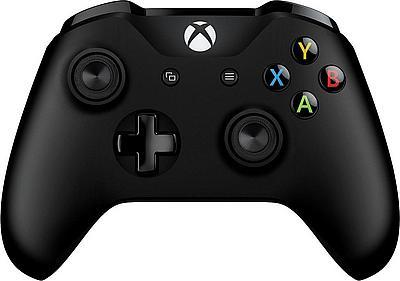 @Universal Microsoft Xbox One Wireless Controller schwarz