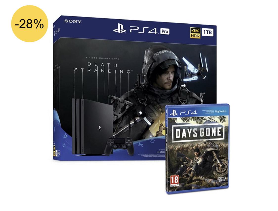 PlayStation 4 Pro 1TB + Death Stranding + Days Gone