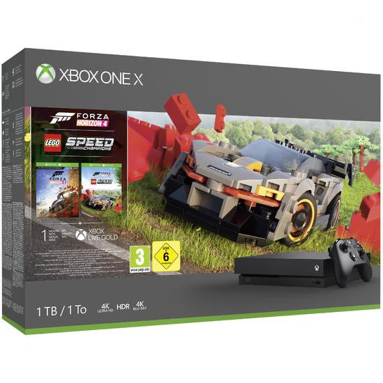 Xbox One X 1 TB Konsole inkl. Forza Horizon 4 und LEGO Speed Champions
