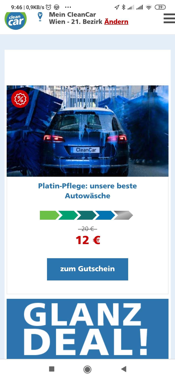 Autowäsche in Wien rund 40 Prozent günstiger