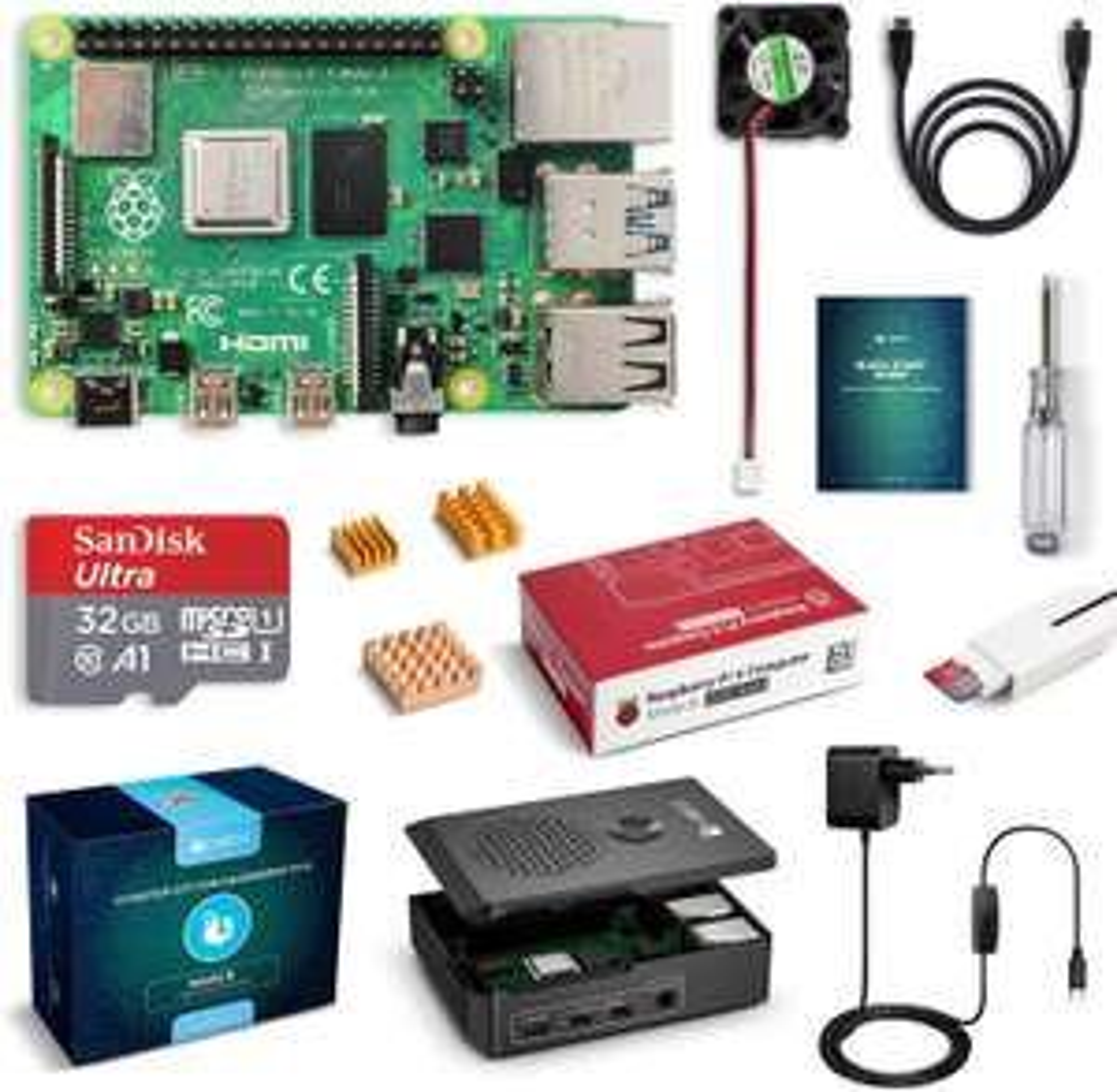 Raspberry Pi 4 Modell B 2GB Ultimatives Kit