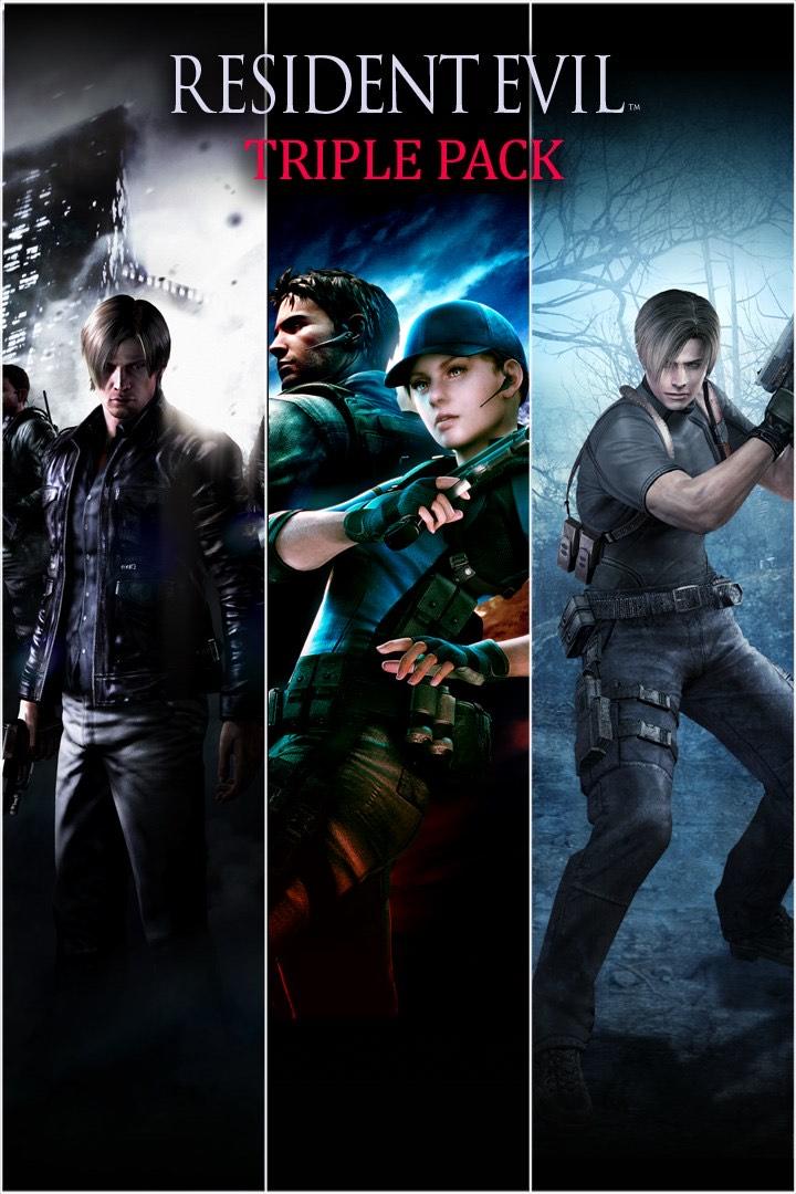 Resident Evil Triple Bundle Pack