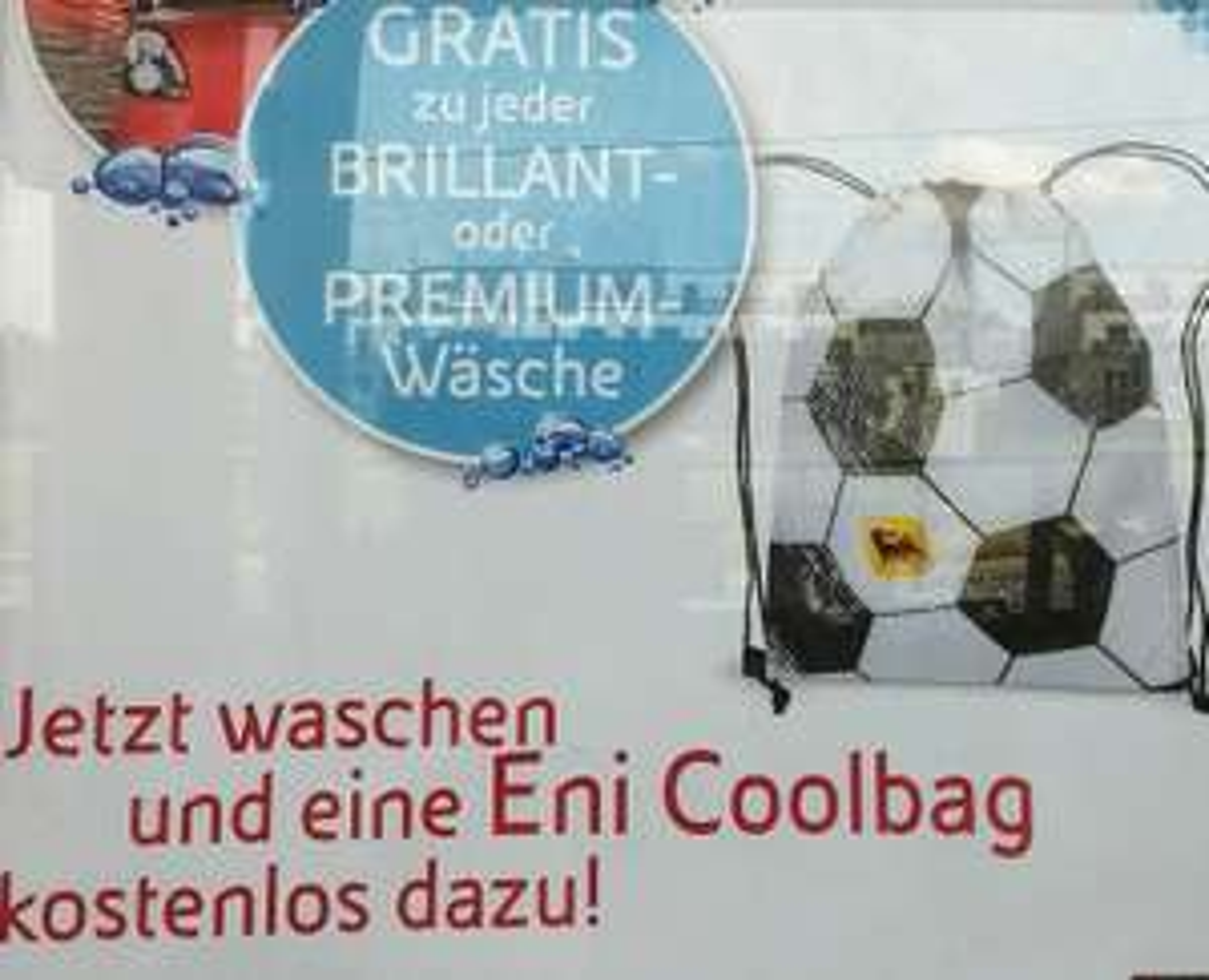 Eni: Gratis Coolbag zu jeder Autowäsche