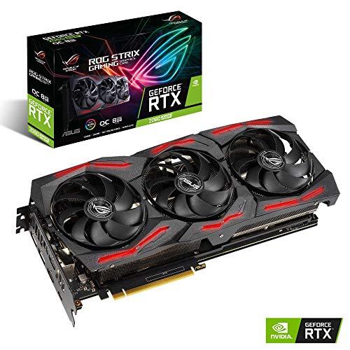 ASUS ROG Strix GeForce RTX 2060 SUPER EVO OC Edition Gaming Grafikkarte (8GB GDDR6)