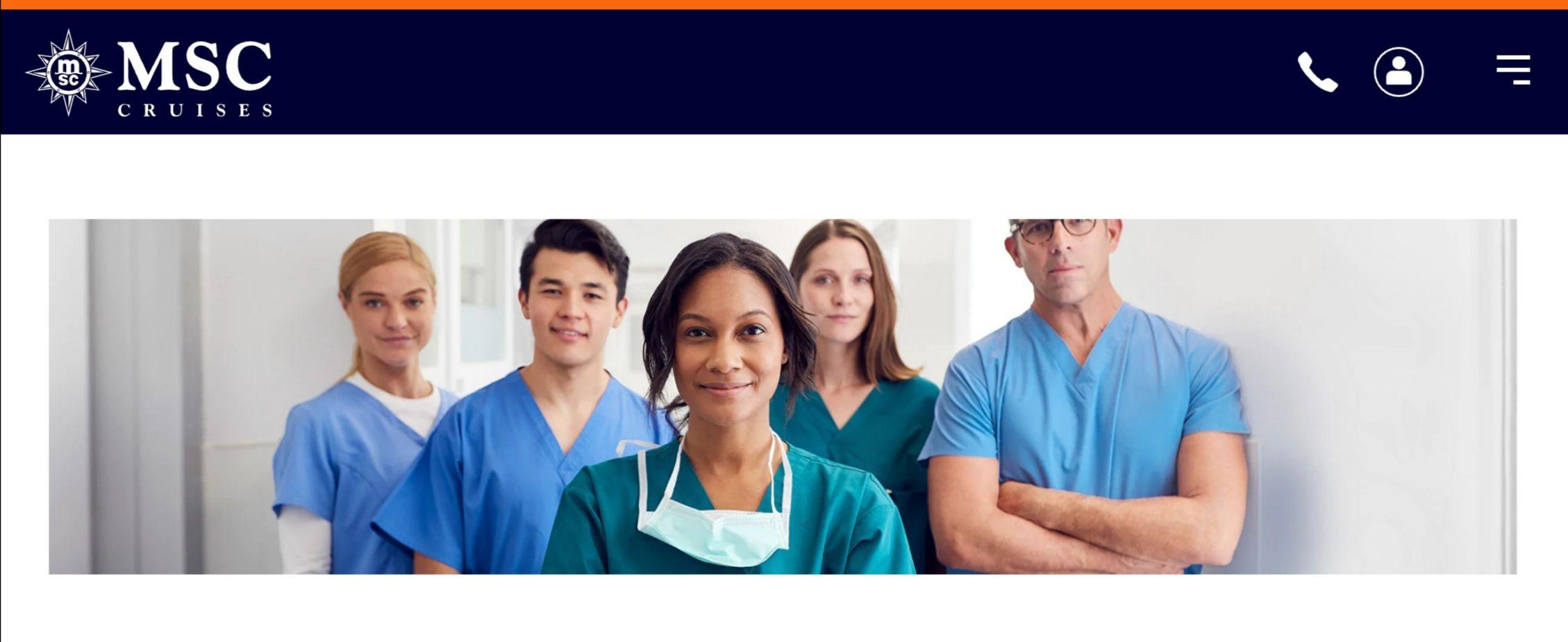 50% Rabatt auf alle MSC-Kreuzfahrten bis 31.03.2021 für Mitarbeiter im Gesundheitswesen