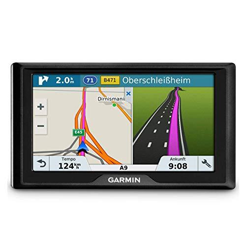 """Garmin Drive 61 LMT-S EU Navigationsgerät - lebenslang Kartenupdates & Verkehrsinfos, Sicherheitspaket, 6"""" (Erweiterbar als Rückfahrkamera)"""