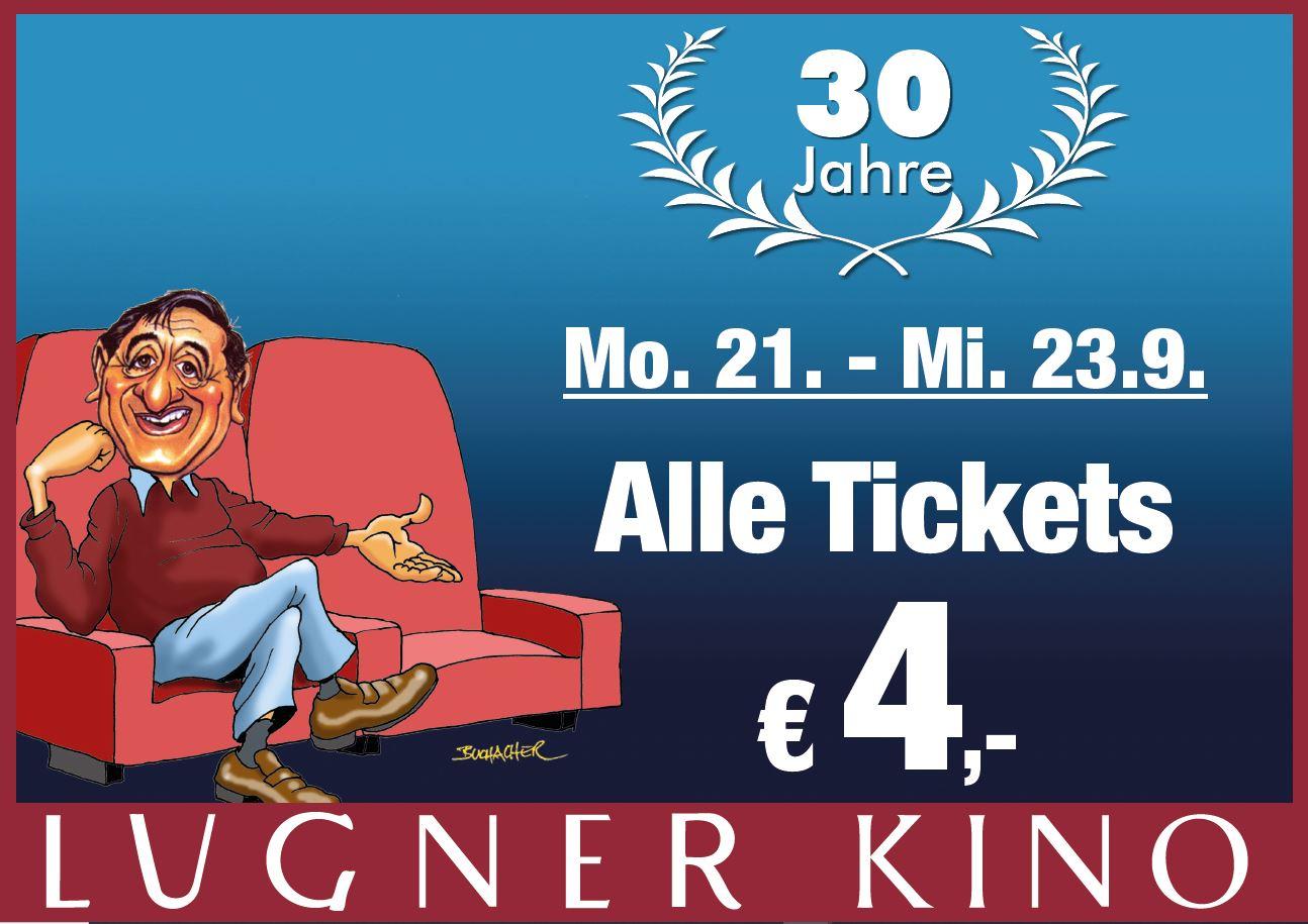 [Lugner City] Lugner Kino alle Karten 4€ / -20% auf alles in 40 Shops / -30% auf alles in den Gastrobetrieben