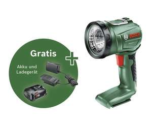 Bosch UniversalLamp + GRATIS 18V Starter Set (2.5Ah Akku + Ladegerät)