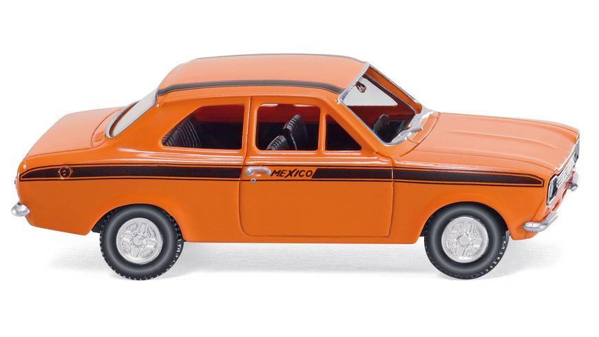Ford Escort Mexico - orange (Wiking 1:87) [Müller Lokal]