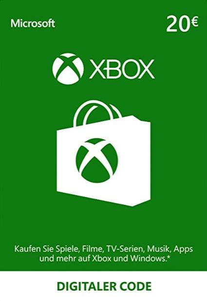 XBOX Live 20 EURO Gift Card EU €16.58 @BCDKEY