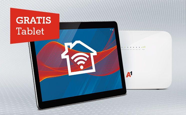 Gratis Tablet zu A1 Internet für Zuhause - Tarif