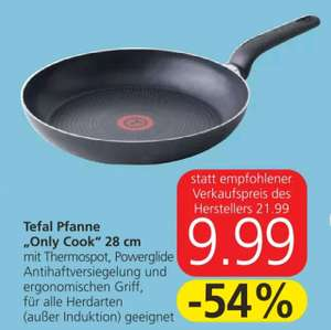 """Tefal Pfanne """"only cook"""" 28cm"""