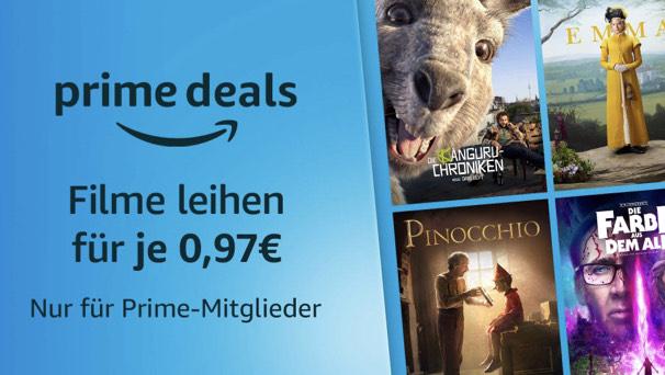 Filme leihen für nur € 0,97