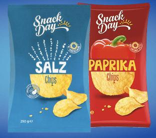 1 Pkg. Chips gratis für ALLE Lidl-Plus-Newsletter-Abonnenten