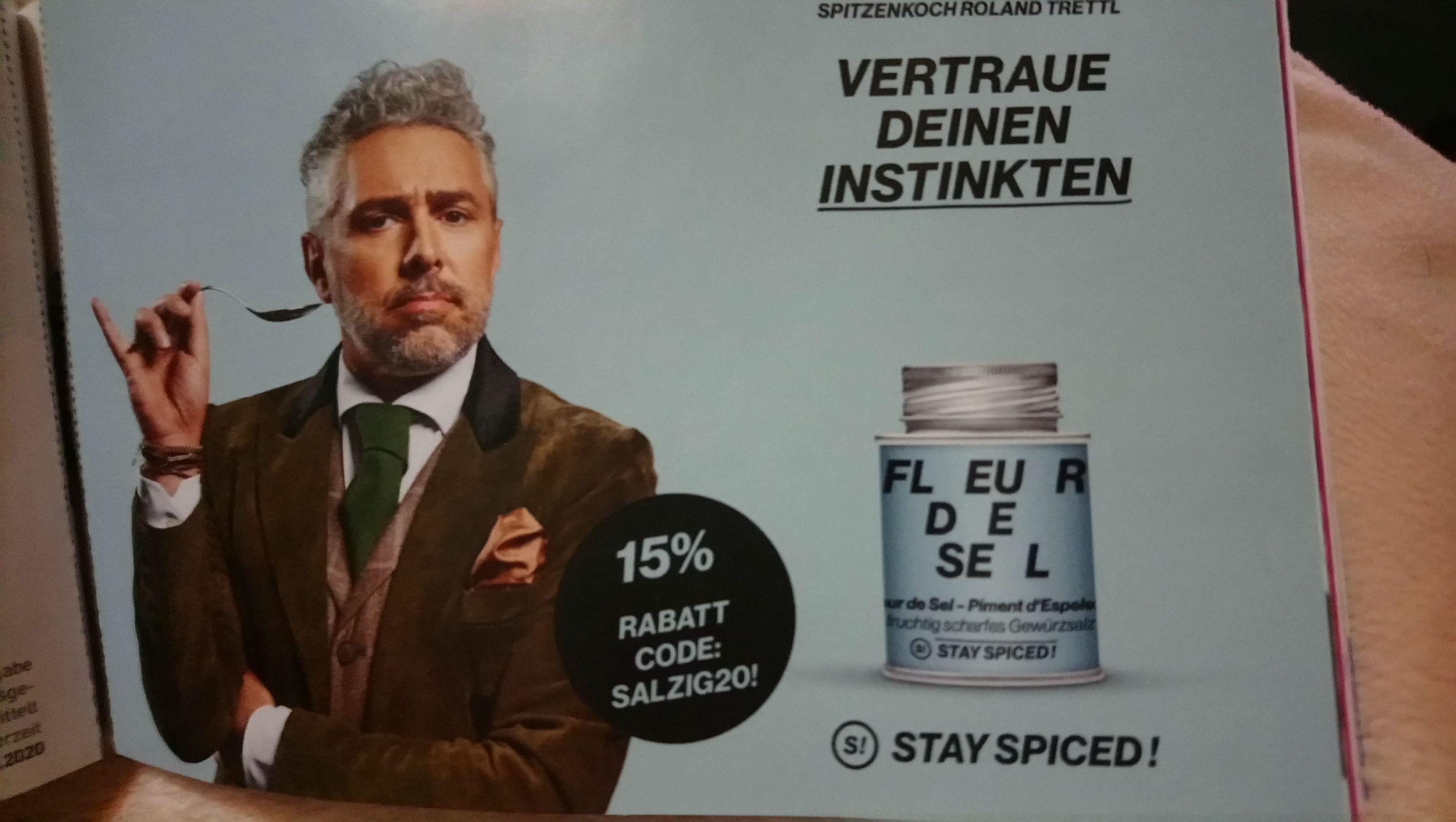 -15% Rabatt bei Stay Spiced