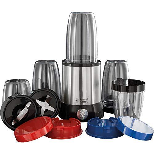 Russell Hobbs Multifunktionsmixer NutriBoost, inkl. 5 BPA-freie und spülmaschinengeeignete Behälter + Deckel