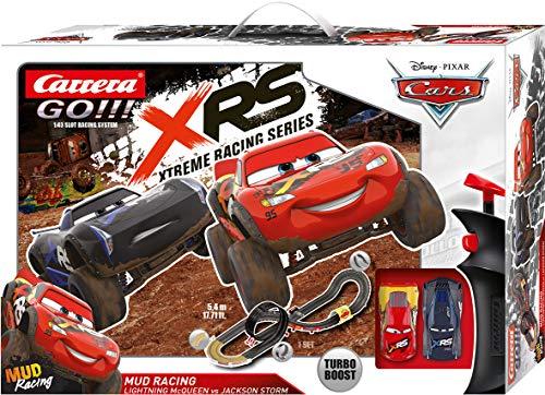 Carrera GO!!! Disney·Pixar Cars Mud Racing Autorennbahn Set