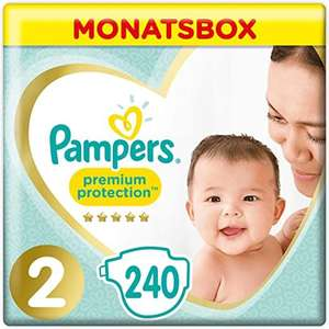 2x Monats Pack(240stk) Pampers Premium Protection