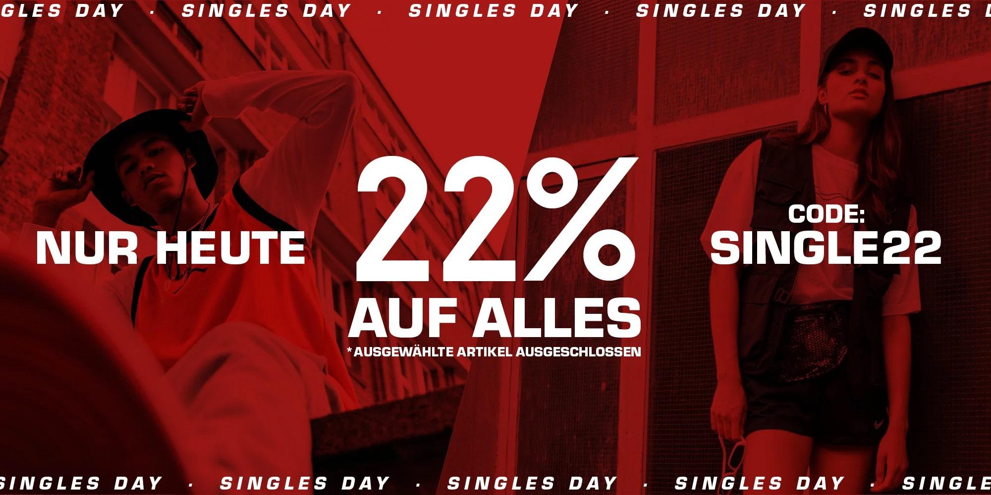 Snipes: 22 % Rabatt auf alles inklusive Sale