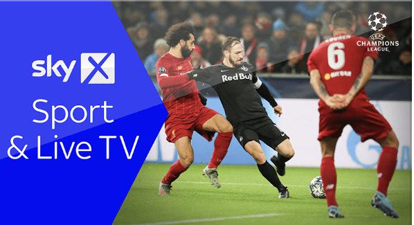 2 Monate Sky X Sport & Live TV für 100 ÖS