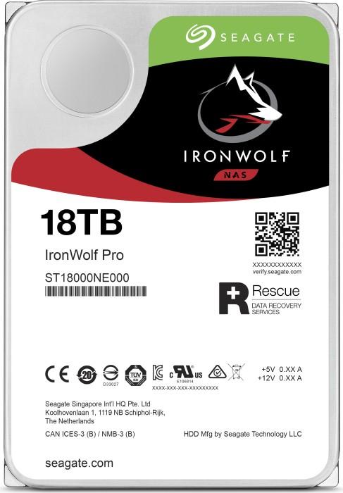 Seagate IronWolf 18TB