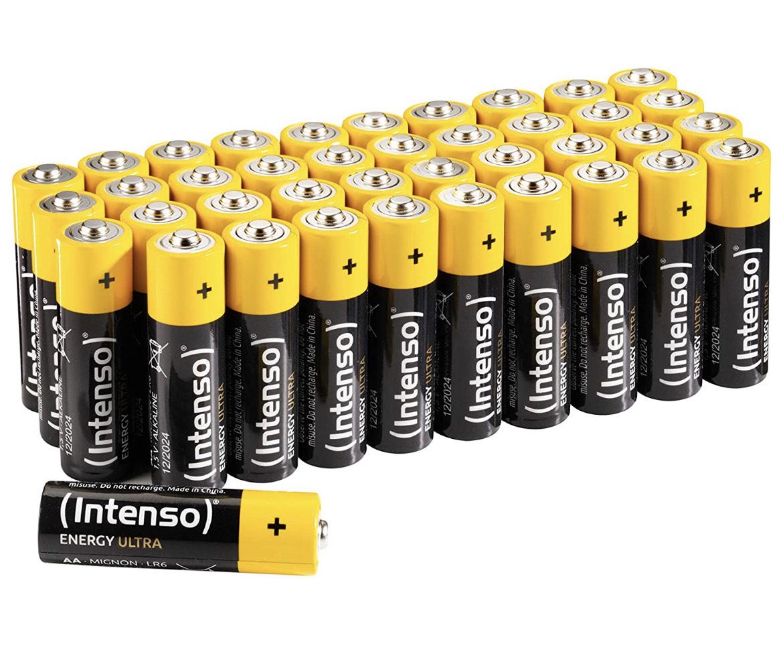 Intenso Energy Ultra AA/AAA 40er Pack Batterien (Bestpreis)