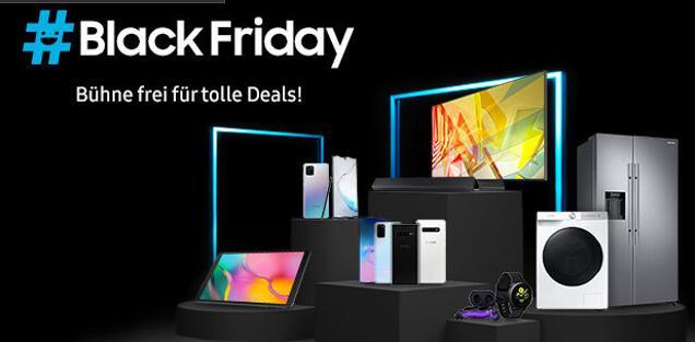 Black Friday bei SAMSUNG: bis zu 56% und gratis Galaxy Buds+