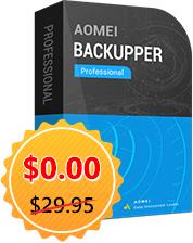 AOMEI Backupper Pro und diverse weitere Programme gratis