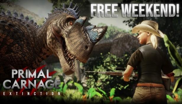 Primal Carnage: Extinction bis 23.11. um 20 Uhr gratis zocken auf Steam -Wo sind die Dino Fans?-