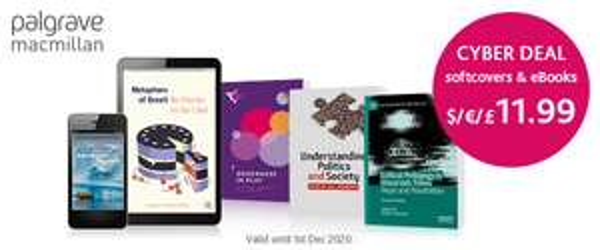 Palgrave Shop: Alle Softcover % eBooks um nur 11,99€