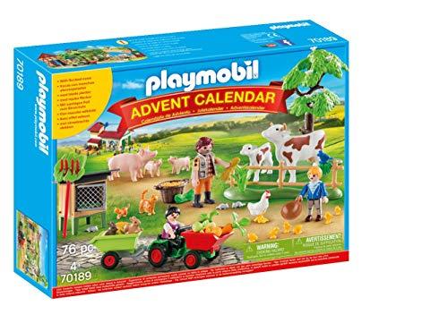 playmobil Weihnachten - Adventskalender Auf dem Bauernhof (70189)