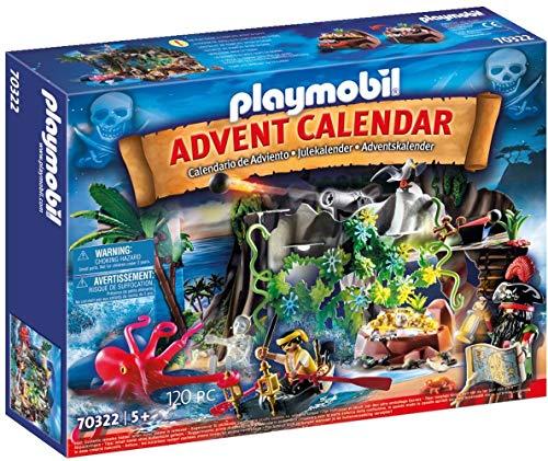 playmobil Weihnachten - Adventskalender Schatzsuche in der Piratenbucht (70322)